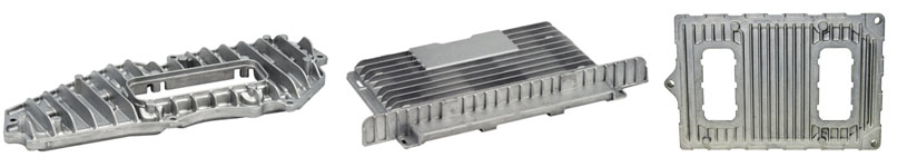 Electronic Heat Sink Control Module Castings